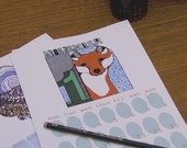 3rd annual Wolfie and the Sneak Illustrated Calendar