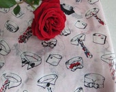 Silk Vintage Tie Scarf