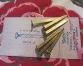Vintage Brass Paper Fasteners