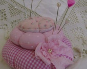 Rose stacked pincushion