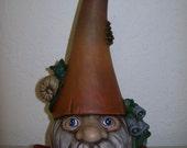 Hand Painted Ceramic Nature Gnome