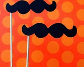 Mustaches on a Stick - The Mario (set of 10)