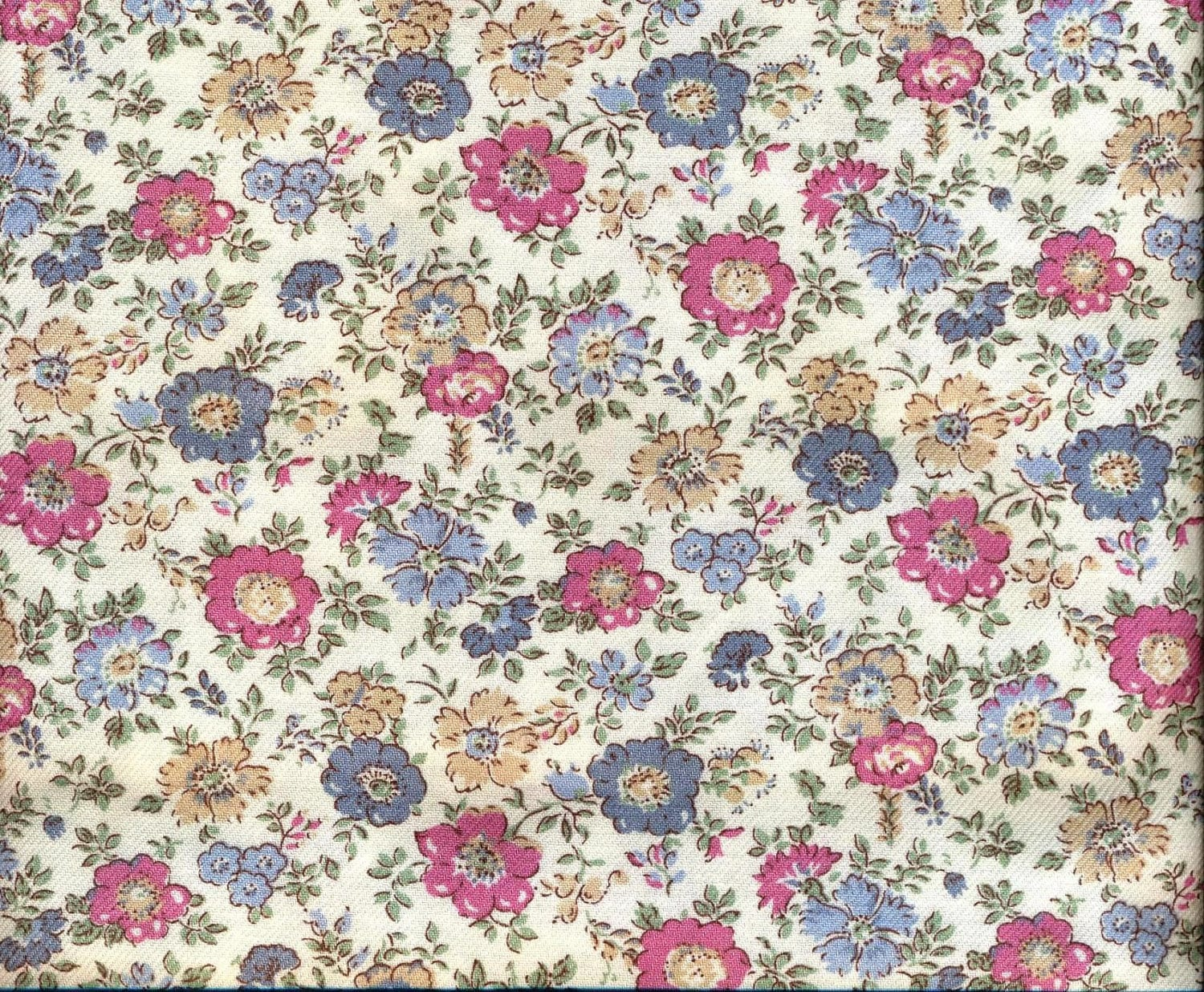 Vintage liberty fabric vintage liberty of london jubilee for Vintage fabric