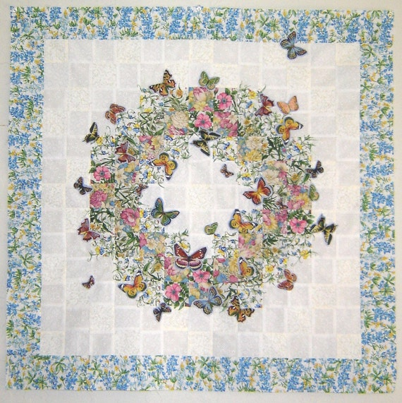 Butterfly Wreath Quilt