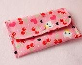 Lovely Cat Mini Snap Wallet