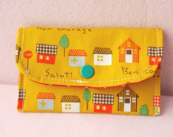 Little Town Mini Snap Wallet