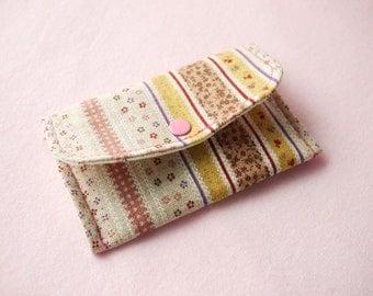 Sweet Garden Mini Snap Wallet