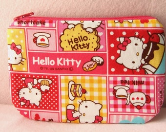 Hello Kitty Mini Zipper Pouch (Pink)