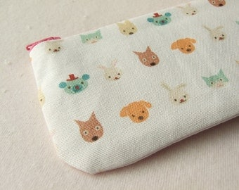 Puti de pome lovely pet pencil (pen) pouch
