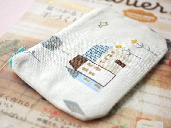 Lovely Village mini zipper pouch No.3