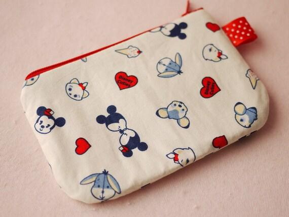 Disney Characters Mini Zipper Pouch