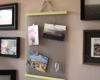 Hanging Photo & Jewelry Organizer