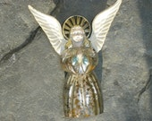 SALE TODAY ONLY was 10 now 5 dollars Heavenly vintage angel tree topper