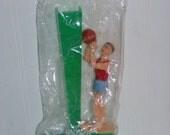 VINTAGE cake topper basketball player decoration mint