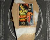Coffin Shaped Box: The Mummy - Dead Girl Decay - Limited Edition - Trinket - Jewelry - Stash Box - Handmade Art