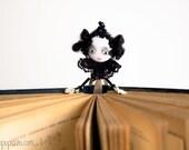 Black Queen Unusual art bookmark