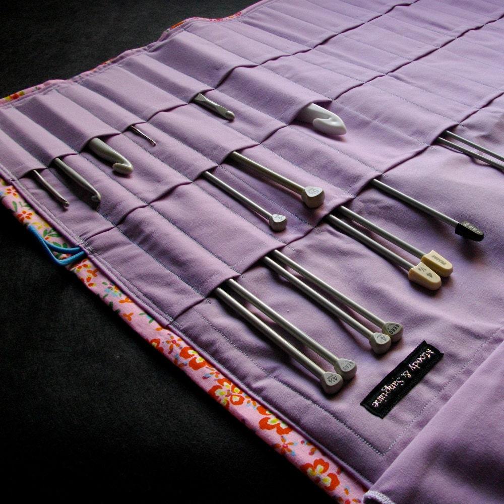 Knitting Needle Organizer Pattern : Knitting Needle Organizer Love Debbie Darling Knitting Needle