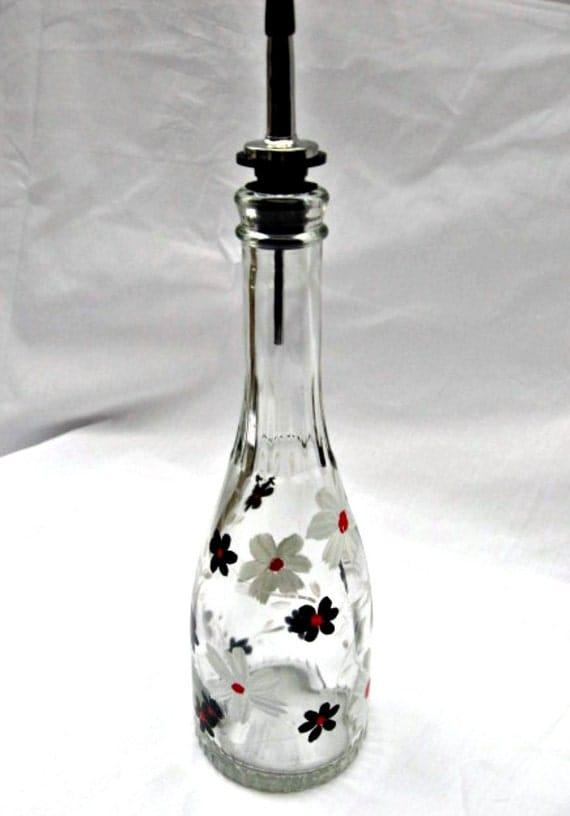 Recycled glass bottle dish soap dispenser Dish soap dispenser