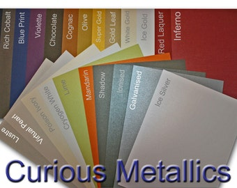 Curious Metallic 92 lb CardStock - 25 pk