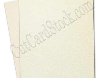 Curious Metallic Shimmer CRYOGEN WHITE 89lb cardstock 8.5 x 11