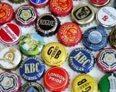 Lot of 50 Beer caps