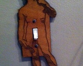 Michelangelo's David dirty light switch cover