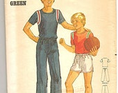 Vintage Boys Sports Clothes - Sweats - T-Shirt - Knits Size 10 - Butterick 5201