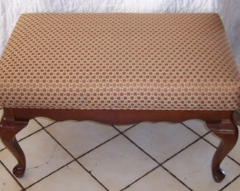 Mahogany End of Bed Bench Entry Bench