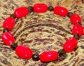 Shiney Red Bracelet