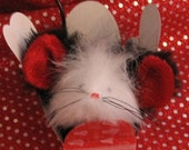 Catnip Mouse Valentino the Valentine or Wedding Catnip Boutique Mouse