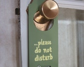 nursing privacy doorknob hanger