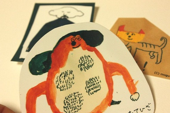 Mogu Stickers (set of 3)