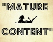 MATURE CONTENT - Red Vagina Candle for Sex, Love, Seduction, Fertility and more