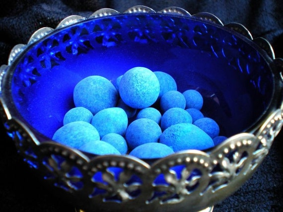 Blue HooDoo Anil Balls - Mexican Blueing Balls for Gambler's Luck, Cleansing, Success and MORE
