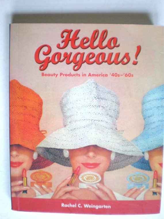Vintage Fashion Photos, book. Hello Gorgeous, new