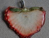 Chunky Strawberry ShellackingOff Necklace