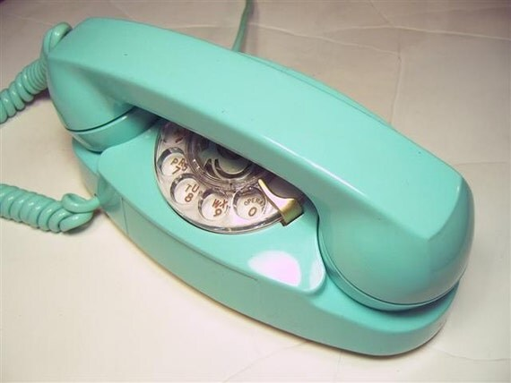 Genuine 1950s Western Electric Princess Rotary Telephone