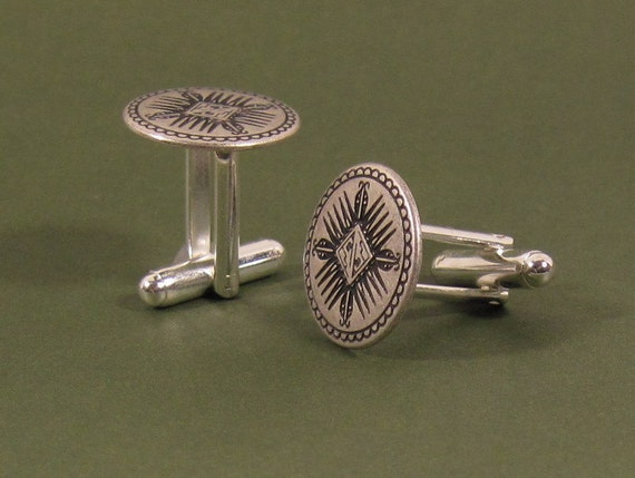 Cuff Links - Four Directions