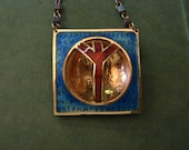 Champleve Enamel Rune Portals: The Rune of Protection