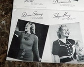 Sweater Ensembles from the Scroll of Fashion 1939