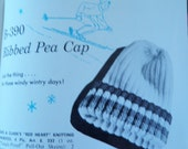 hand knit sweaters pattern booklet 1964