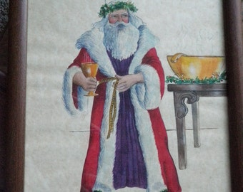Vintage Father Christmas and Wassail
