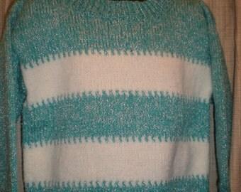 Bernat Stripped Pullover, Size 4T
