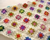 Colorful Afghan Blanket