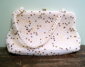 Plastic Bead Purse