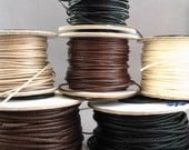 reserved for hollynsage - Natural Woven Cotton Cord - 4 25 yard spools