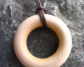 Simple Wooden Nursing Necklace