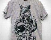 Space Fox Graphic Tee - Men Sizes