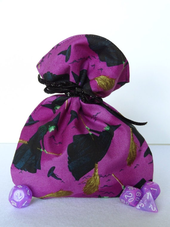 Wicked Witch Dice Bag with Zipper