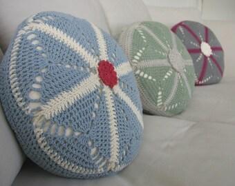 Starburst Crochet Cushion Pillow Cover Pattern